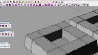 T-splines для Rhino 4. Углубление квадратное