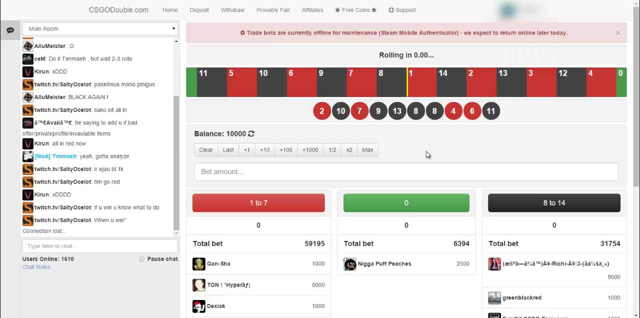 Betting sites like csgodouble codes spread betting stocks