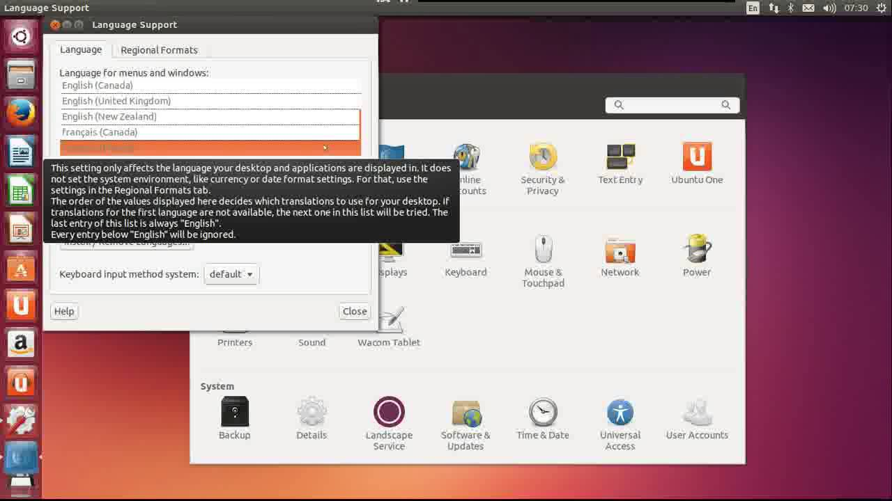 ubuntu 12.04 en francais