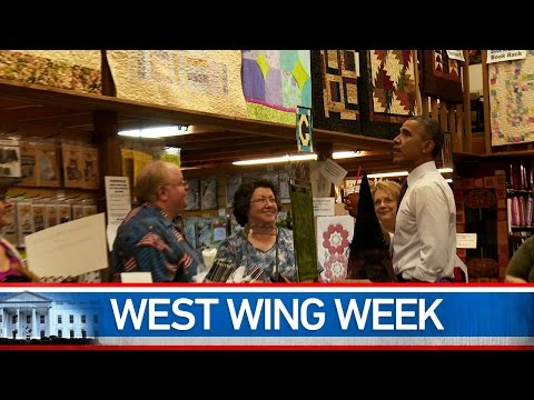West Wing Week 08/01/14: A Walk Down Main Street with President Obama