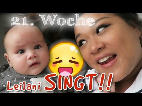 Babytagebuch #4 - 21. Woche - Leilani SINGT, 5 Jahre VERHEIRATET, QUATSCH machen