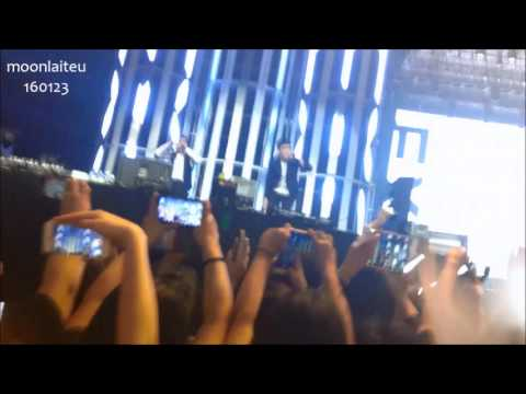 [FANCAM] 160123 Exo'LuXion in Manila PARTY TIME DROP THAT