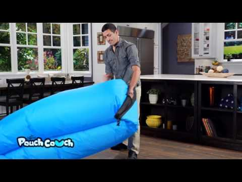 How to Inflate Your Pouch Couch - How To Video