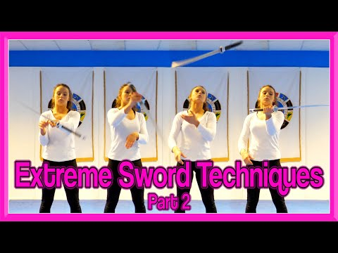 Sword Wrist Roll & Releases Tutorial | Extreme Sword Techniques Part 2
