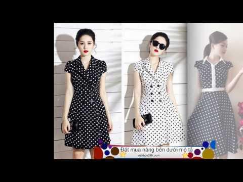 Thời Trang Công Sở - Thu Hút Và Quyến Rũ Hơn Với Các Mẫu Váy Chấm Bi Thanh Lịch
