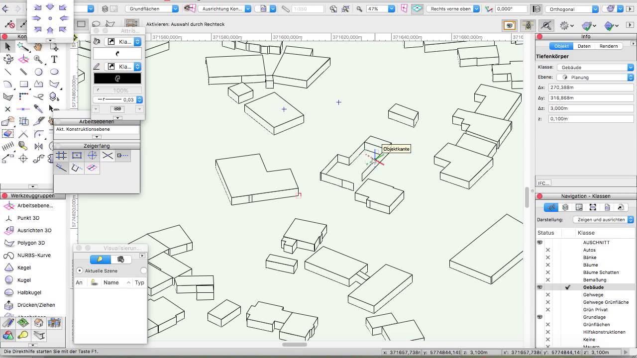 Lovely 3D   Gebäude Erstellen