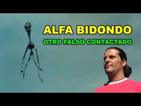 ALFA BIDONDO: otro falso contactado