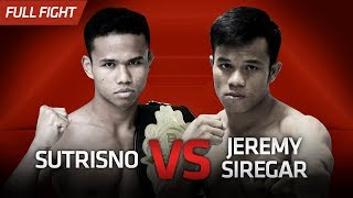 [HD] Sutrisno vs Jeremy Siregar || One Pride Pro Never Quit #26