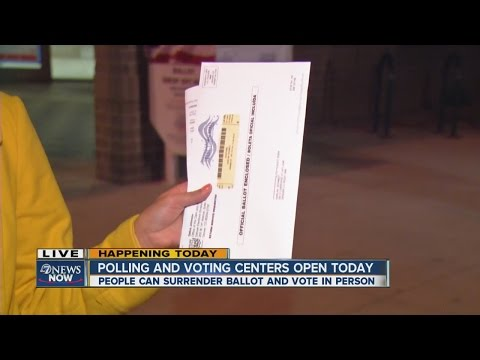 Colorado Polling And Voting Centers Open Today