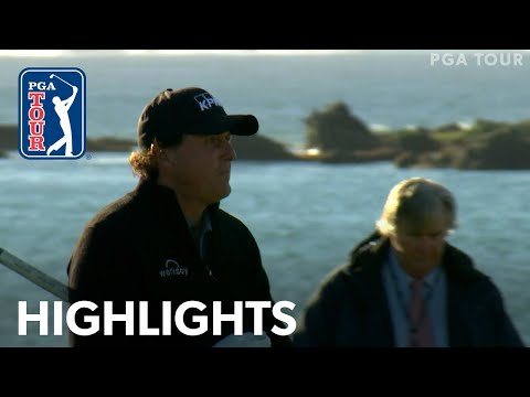 Phil Mickelson's winning highlights from AT&T Pebble Beach 2019 Mp3