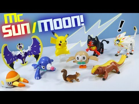Thumbnail: Happy Meal Pokémon Sun and Moon McDonalds Toys Full Collection Review 2017