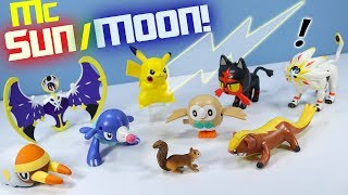 Happy Meal Pokémon Sun and Moon McDonalds Toys Full Collection Review 2017