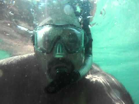Me Snorkeling In Destin Florida Using My Fuji Underwater Camera