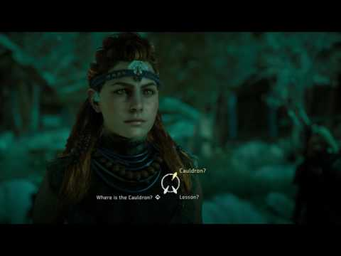 Horizon Zero Dawn - Mother's Crown Settlement: Aloy Meets Dral (Cauldron Sigma Mission) Dialogue