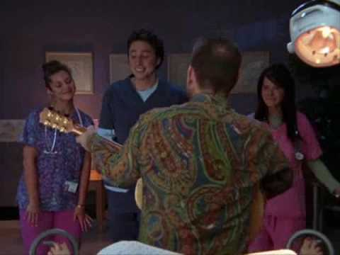 Scrubs  Colin Hay Men at work Appears again on Season 7