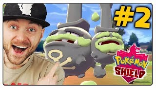 POKEMON SHIELD - PIERWSZE GALARIAŃSKIE POKEMONY! (Nintendo Switch)