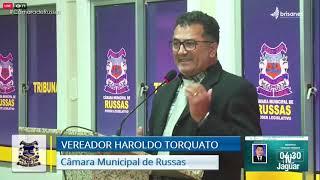 Haroldo Torquato   Pronunciamento Câmara de Russas   26 01 21