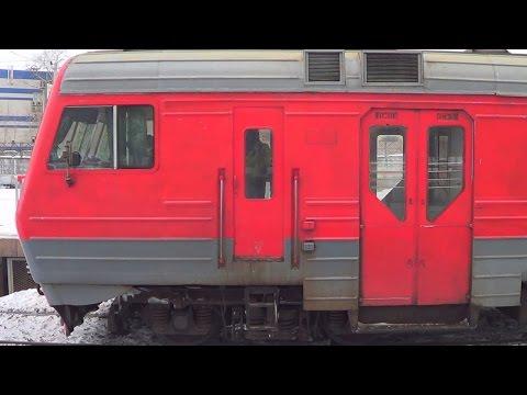 Электропоезд ЭД4М-0343, платформа Карачарово