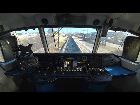 Train Driver's POV Zandvoort - Amsterdam SGM 2018