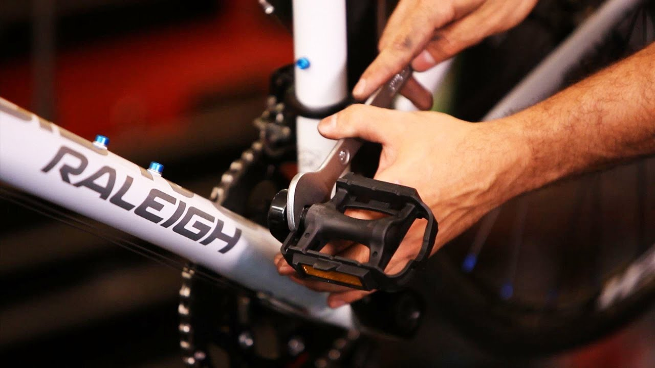 How To Remove Install Bike Pedals Bicycle Repair Youtube