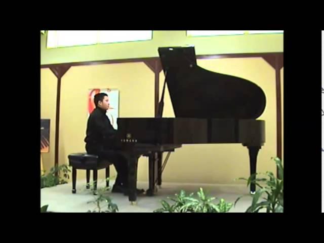 Cours de Musique à Montréal: Advanced  Gershwin prelude no 2