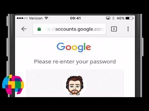 How to change gmail password on apple ipad