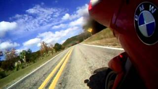 BMW R1100RS Texas Hill Country Motorcycle riding hwy16
