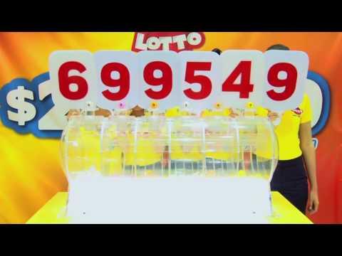 Sorteo Lotto 1842 3-AGO-17