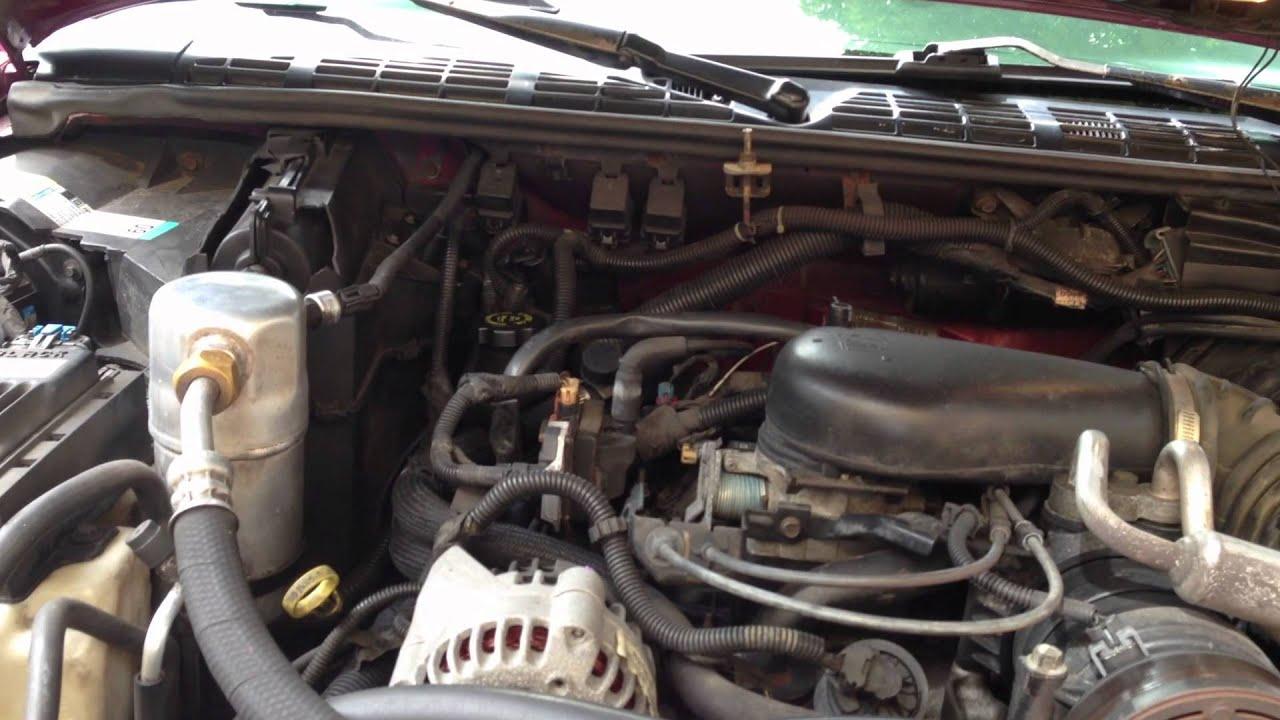 1997 Chevy Blazer Fuel Gauge issue! Fuel Gauge Buffer Module???  YouTube