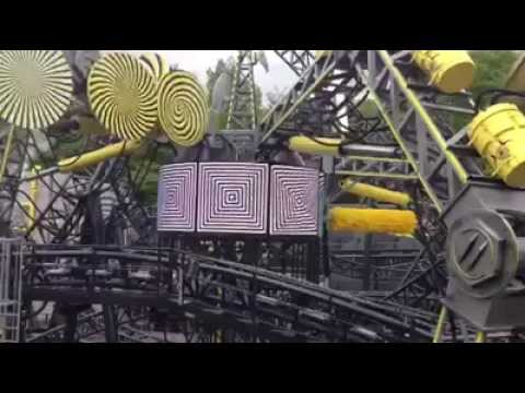 Smiler Screen testing with music