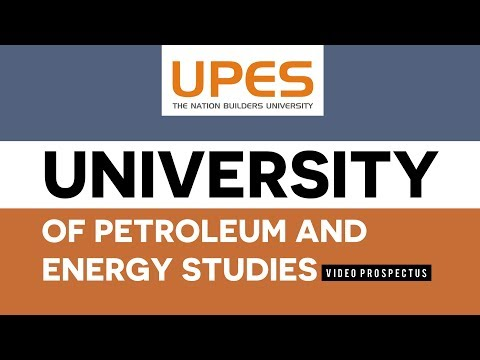 UPES   University of Petroleum and Energy Studies