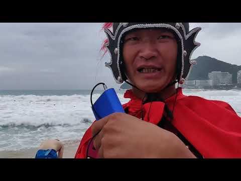 #10 ТАЙФУН на ХАЙНАНЕ. К счастью, тайфун был слабый.