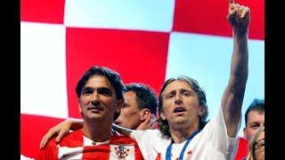 FEIERTIER: So genial feiert Luka Modric den zweiten WM-Platz