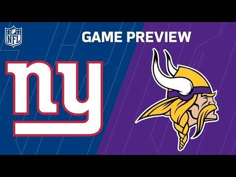 Giants vs Vikings (Week 4 Preview) | Monday Night Football | Move the Sticks | NFL