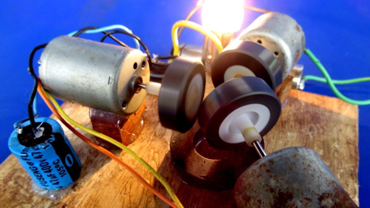 free energy motors and generators self running