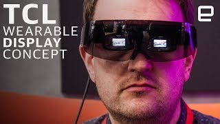 TCL Wearable Display Concept Hands-on: A multiplex on your head