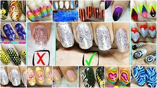 17 Different DIY Nail Art Ideas in 4 Minutes at Home