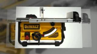 Dewalt Dw745 10 Inch Compact Job Site Table Saw