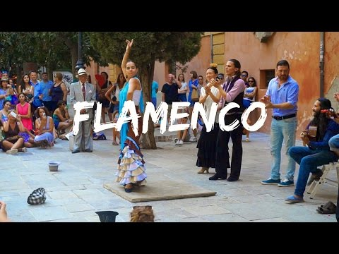 Flamenco Street Dancing in Spain!