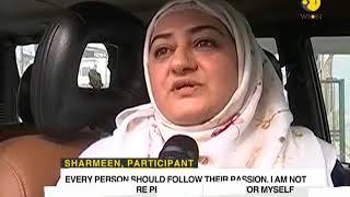 Kashmiri female doctor turns snow car racer