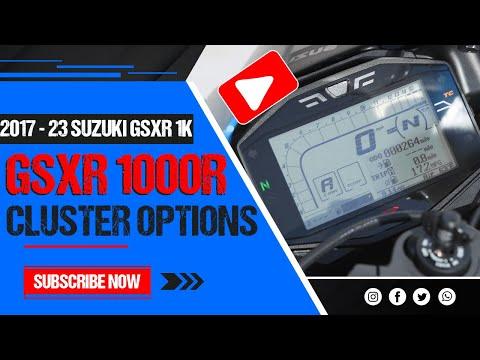 MotoBros - 2017 2018 GSXR 1000RR Oil Light Reset / Service Mode