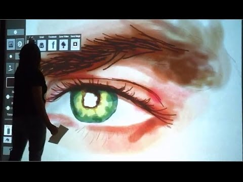AIR Graffiti: Interactive Digital & Virtual Graffiti Wall