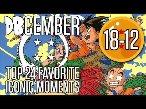 DBcember: Top Iconic Moments in Dragonball: 18-12