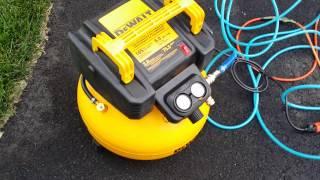 dewalt 6 gallon electric air compressor