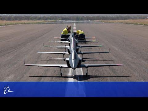 Boeing Flies Five Autonomous Jets