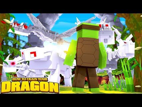 THE SECRET WHITE DRAGONS!  - How To Train Your Dragon w/TinyTurtle