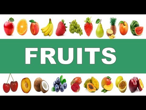 las frutas en ingles como se pronuncia