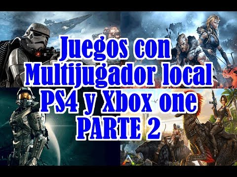 Juegos Con Multijugador Local Ps4 Y Xbox One 2 Youtube
