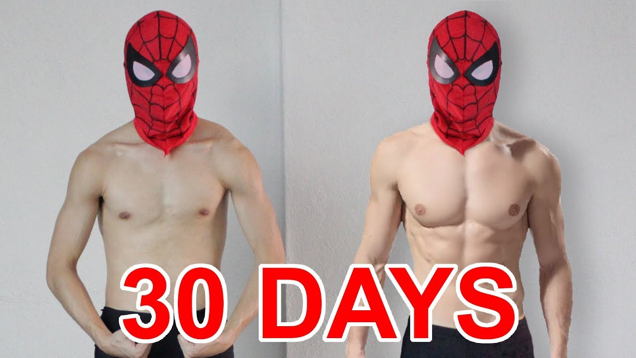 Trained Like Superheroes For 30 Days