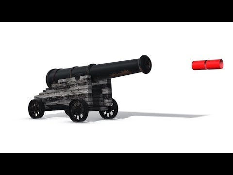Apply using an Olde Tyme Cannon